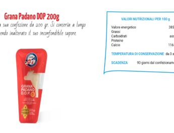 Latte Alberti e il Grana Padano Dop