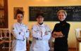 Un menù che racconta la camminata Albenga-Assisi all'osteria del Tempo Stretto