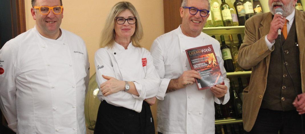 """""""La cucina ligure, una eccellenza"""", parola di Igles Corelli"""