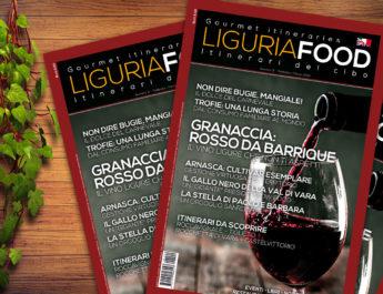In uscita il nuovo numero di LIGURIAFOOD… corri in edicola!