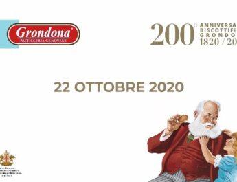 I 200 anni del Biscottificio Grondona in streaming