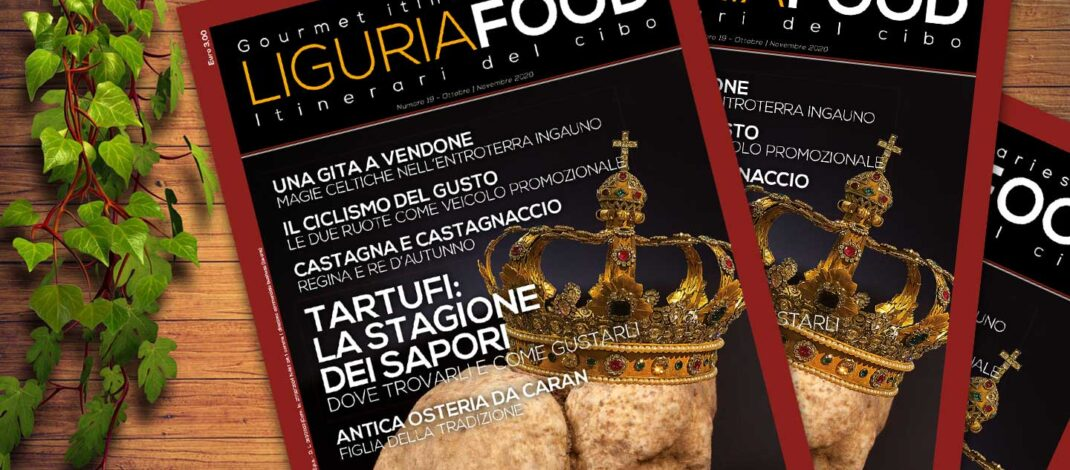 In edicola il nuovo numero di LiguriaFood